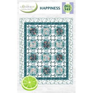 Happiness Pattern By Lavender Lime For Moda - Minimum Of 3