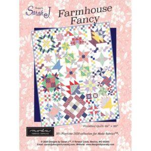 Farmhouse Fancy Bom/12 Pattern By Sarah J For Moda
