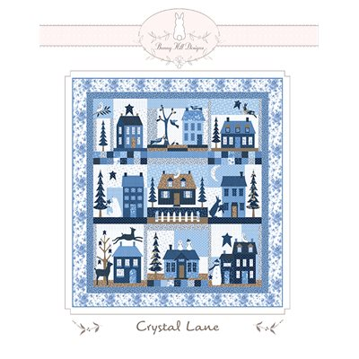 Crystal Lane Bom/9 Pattern By Bunny Hill Designs For Moda