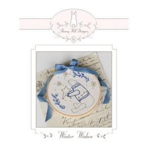 Sweet Stiches Winter Wishes Embroidery Pattern By Bunny Hill Designs For Moda - Minimum Of 3