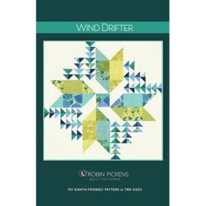 Wind Drifter Pattern By Robin Pickens For Moda - Minimum Of 3