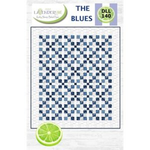 The Blues Pattern By Lavender Lime For Moda - Minimum Of 3