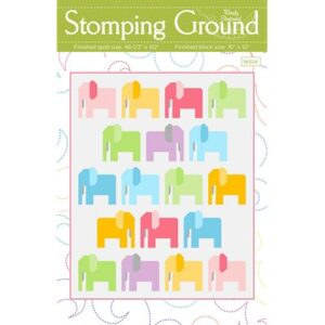 Stomping Ground Pattern By Wendy Sheppard For Moda - Minimum Of 3