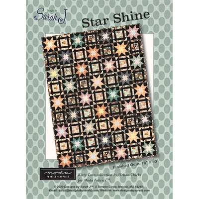 Star Shine Pattern By Sarah J For Moda - Minimum Of 3