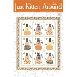Just Kitten Around Pattern By Wendy Sheppard For Moda - Minimum Of 3