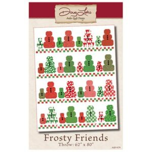Frosty Friends Pattern By Antler Quilt Design For Moda - Min. Of 3