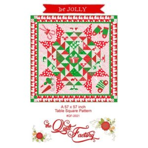 Be Jolly Pattern By The Quilt Factory For Moda - Min. Of 3
