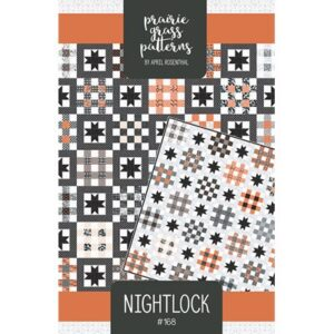 Nightlock Pattern By Prairie Grass Patterns For Moda - Min. Of 3