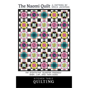 The Naomi Quilt Pattern By Kitchen Table Quilt For Moda - Min. Of 3