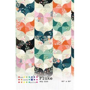Fluke Pattern By Eye Candy Quilts For Moda - Min. Of 3