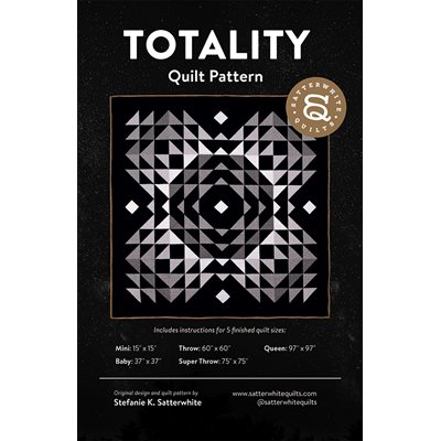 Totality Pattern By Satterwhite Quilt For Moda - Minimum Of 3