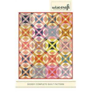 Skiddy Pattern By Wise Craft Handmade For Moda - Minimum Of 3