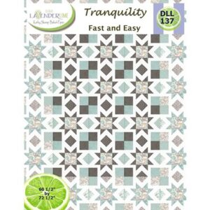Tranquility Pattern By Lavender Lime For Moda - Minimum Of 3