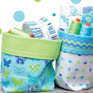 Fat Quarter Bucket By Me & My Sister Design