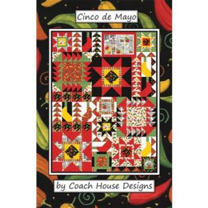 Cinco De Mayo Pattern By Coach House Designs - Min. Of 3