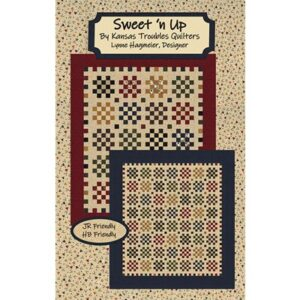 Sweet'N Up Patterns By Kansas Troubles Quilters For Moda - Minimum Of 3