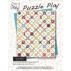 Puzzle Play Bom/12 Pattern By Sarah Maxwell - Min. Of 3