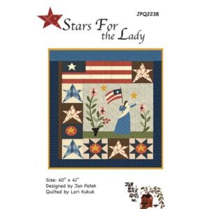 Stars For The Lady Pattern By Jan Patek Quilts For Moda - Min. Of 3