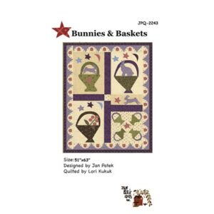 Bunnies And Baskets Pattern By Jan Patek Quilts For Moda - Minimum Of 3