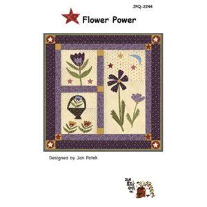 Flower Power Pattern By Jan Patek Quilts For Moda - Minimum Of 3