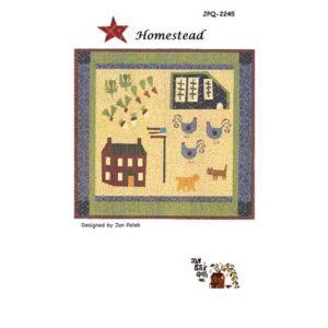 Homestead Pattern By Jan Patek Quilts For Moda - Minimum Of 3