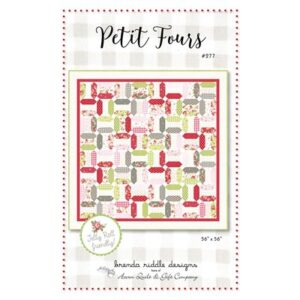 Petit Fours Pattern By Acorn Quilt & Gift Co. For Moda - Minimum Of 3