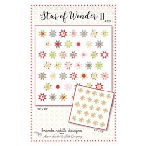 Star Of Wonder Ii Pattern By Acorn Quilt & Gift Co. For Moda - Minimum Of 3