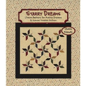 Starry Dreams Patterns By Kansas Troubles Quilters For Moda - Minimum Of3
