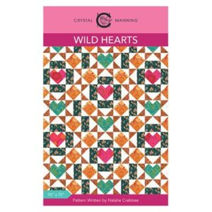 Wild Hearts Pattern By Crystal Manning For Moda - Min. Of 3