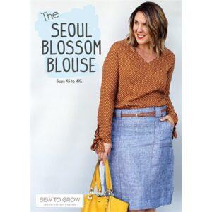 Seoul Blossom Blouse For Moda - Min. Of 3