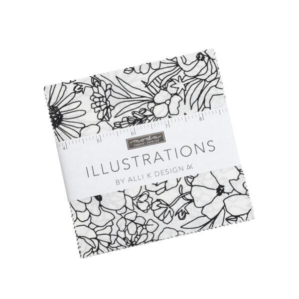 Illustrations Charm Packs By Moda - Packs Of 12