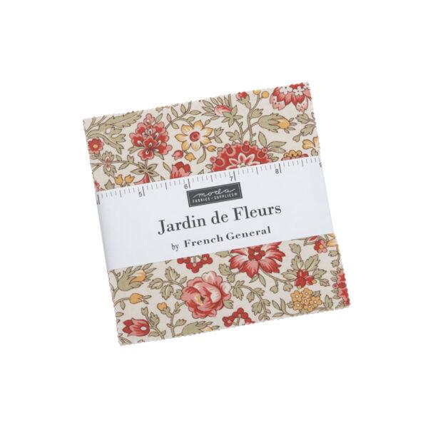 Jardin De Fleurs Charm Packs By Moda - Packs Of 12