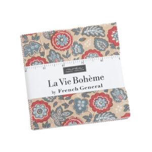 La Vie Boheme Charm Packs By Moda - Packs Of 12