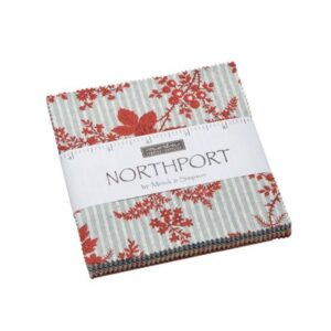 Northport Prints Charm Packs By Moda - Packs Of 12