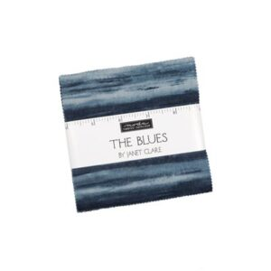 The Blues Charm Packs By Moda - Packs Of 12