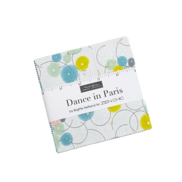 Dance In Paris Charm Packs By Moda - Packs Of 12