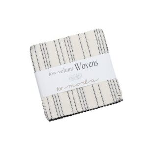 Low Volume Wovens Charm Packs By Moda - Packs Of 12
