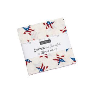 America The Beautiful Charm Packs By Moda - Packs Of 12