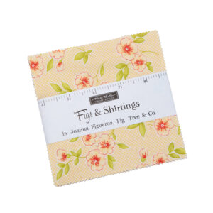 Figs & Shirtings Charm Packs By Moda - Packs Of 12
