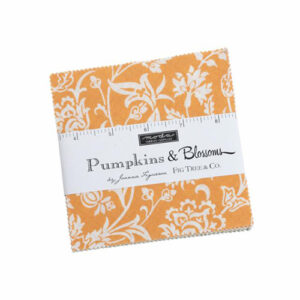 Pumpkins And Blossoms Charm Packs By Moda - Packs Of 12