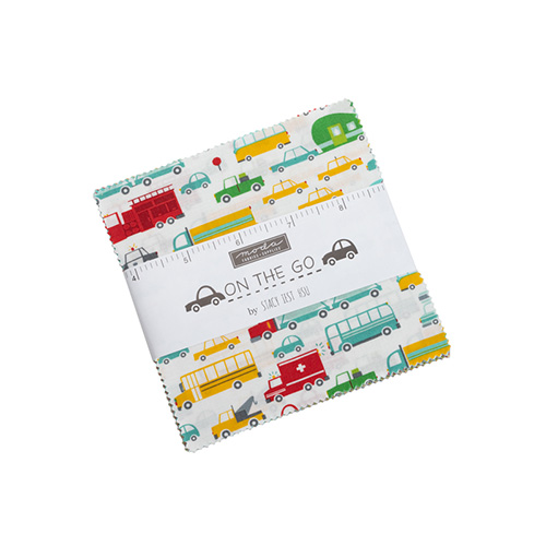 On The Go Charm Packs By Moda - Packs Of 12