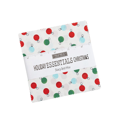 Holiday Essentials - Christmas Charm Packs By Moda - Packs Of 12