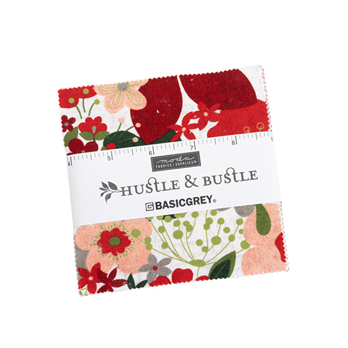 Hustle And Bustle Charm Packs By Moda - Packs Of 12