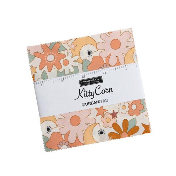 Kitty Corn Charm Packs By Moda - Packs Of 12
