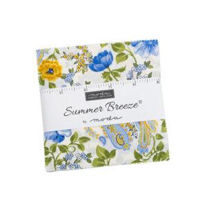 Summer Breeze Charm Packs By Moda - Packs Of 12