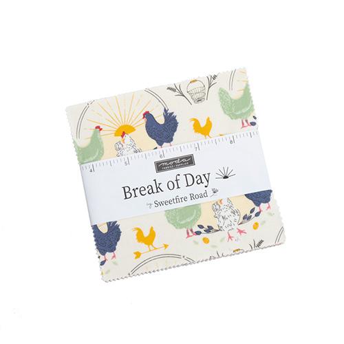 Break Of Day Charm Packs By Moda - Packs Of 12