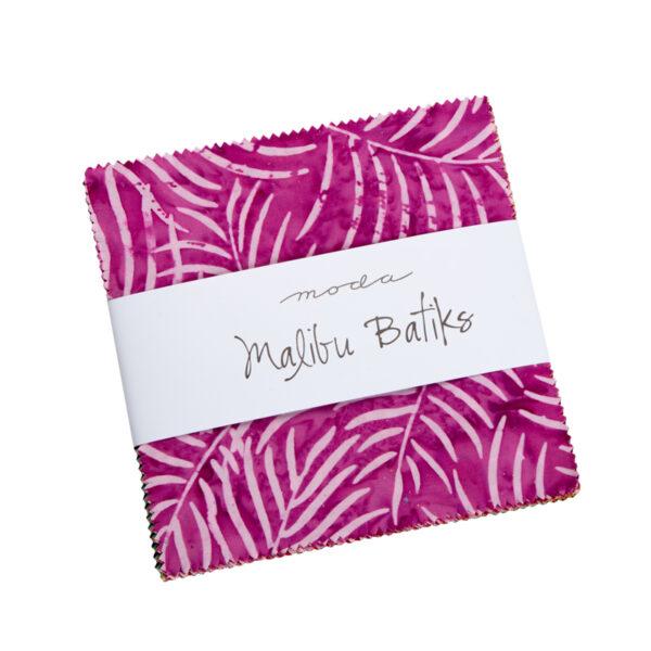 Malibu Batiks Charm Packs - Packs Of 12