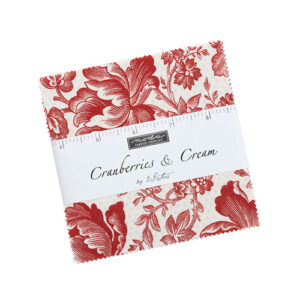 Cranberries & Cream Charm Packs By Moda - Packs Of 12