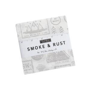 Smoke & Rust Charm Packs By Moda - Packs Of 12