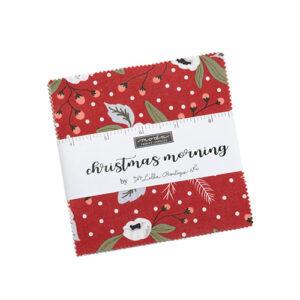 Christmas Morning Charm Packs By Moda - Packs Of 12